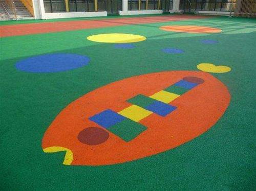 黄冈幼儿园塑胶地垫