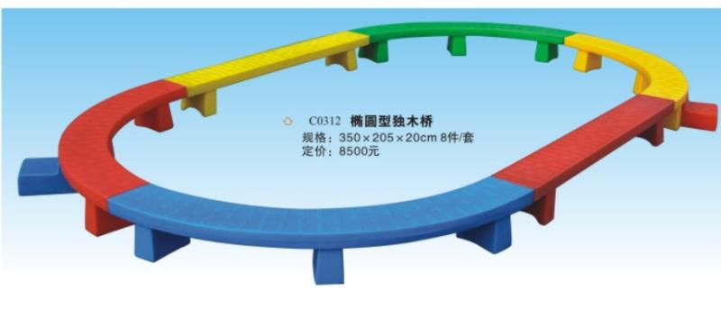 椭圆独木桥