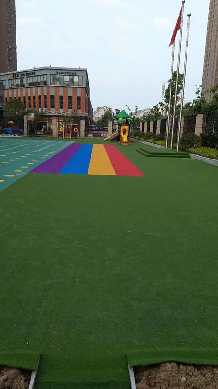 幼幼儿园户外地板铺装