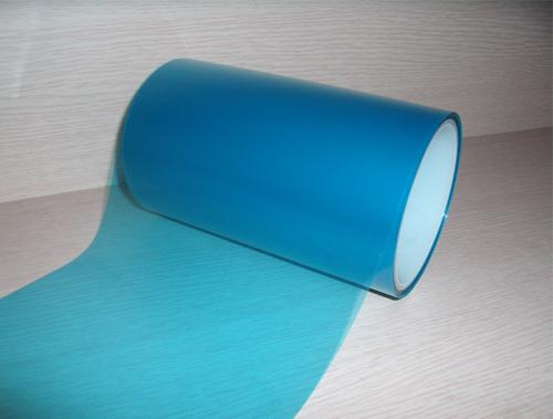 蓝色耐高温保护膜
