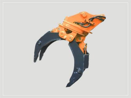 挖掘机抓木器