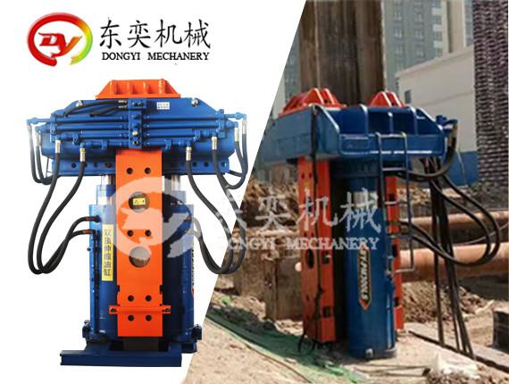 大型液压拔桩机