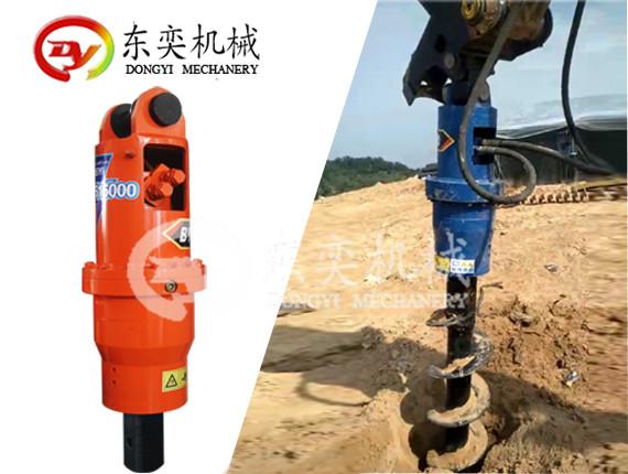 螺旋钻机- 排水系统钻孔