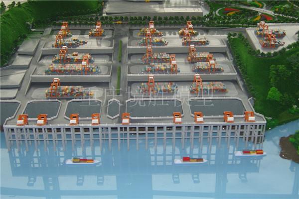 寸滩保�港模型