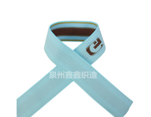 广东三色尼龙松紧带