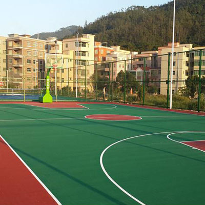 石家庄篮球运动地面