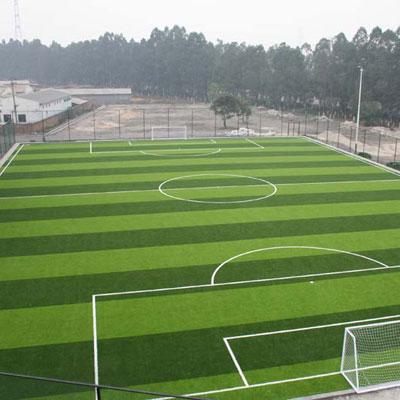 河北足球场人造草坪施工