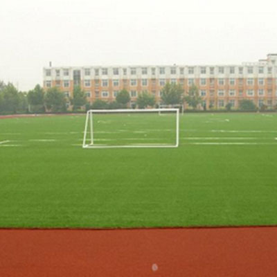 足球场人造草坪施工