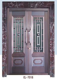 欧式别墅铜门