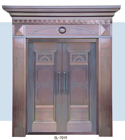 高档别墅铜门