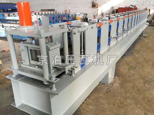 U型钢槽机