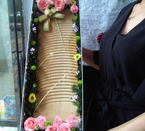【图文】鲜花速递开始啦_石家庄鲜花速递精美包装