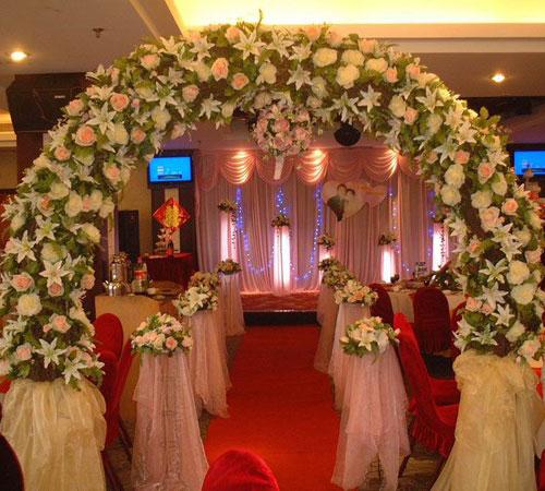 婚礼场地布置
