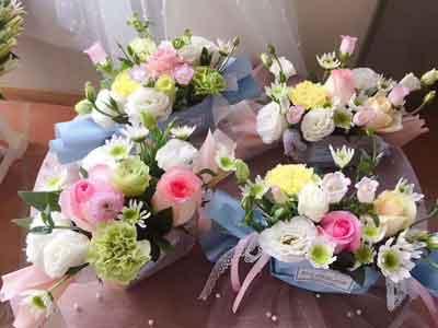 新娘手捧�r花