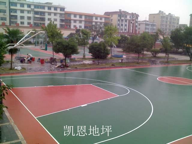 武汉硅PU球场地坪