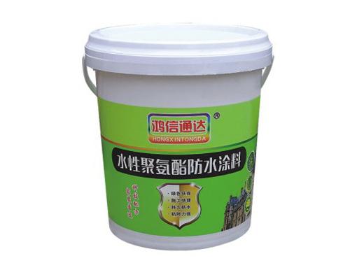 環保型水性聚氨酯防水涂料
