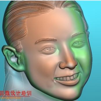 浮雕肖像  恒泰学员练习作品   大长今