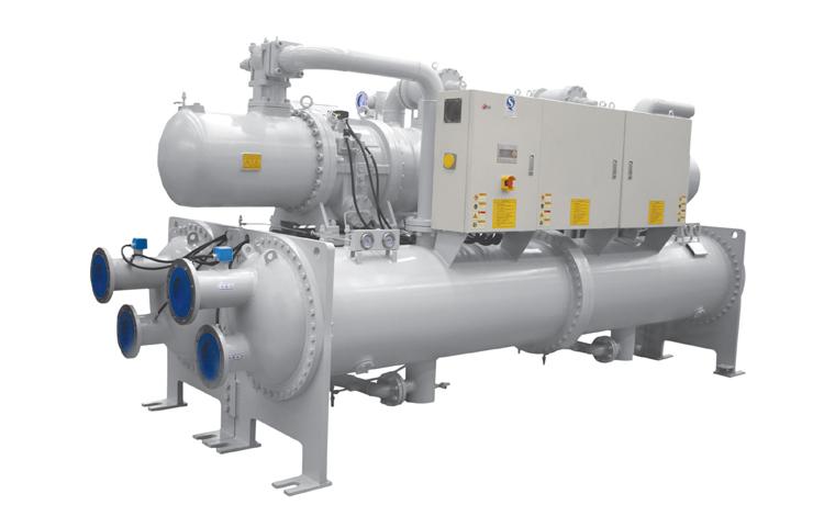 螺桿式水源熱泵機組