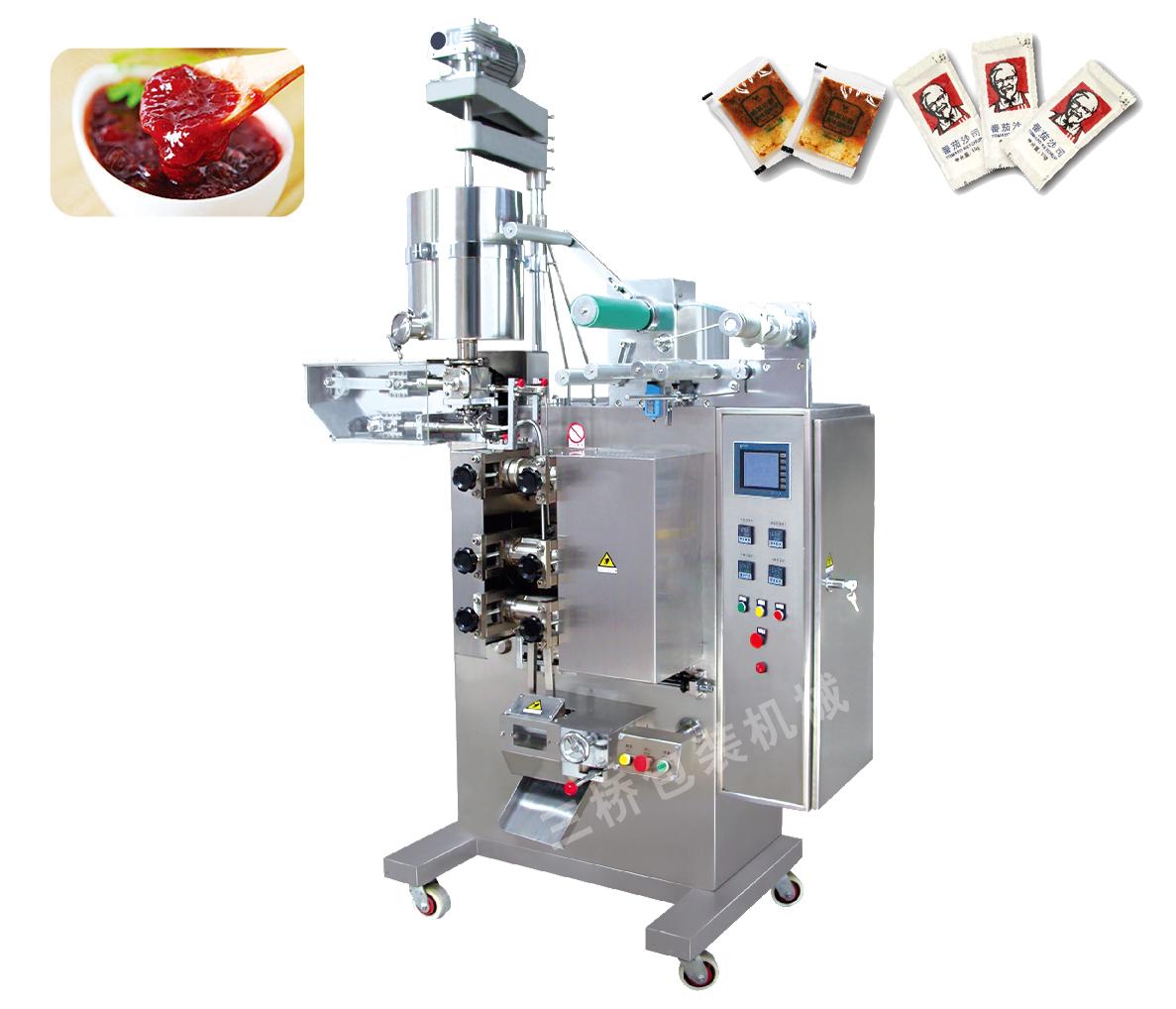 高速自动酱类包装机
