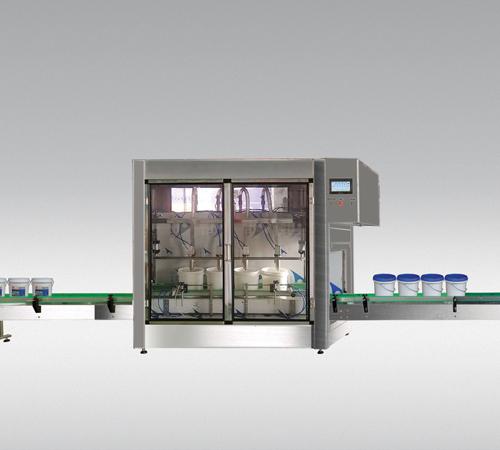 TWDLL-4头流量计式灌装生产线