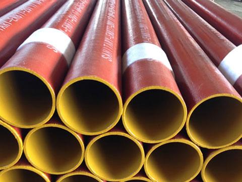 柔性抗震铸铁排水管