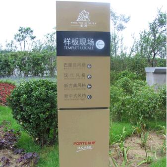 旅游景区指示牌制作