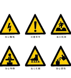 河北安全警示牌设计