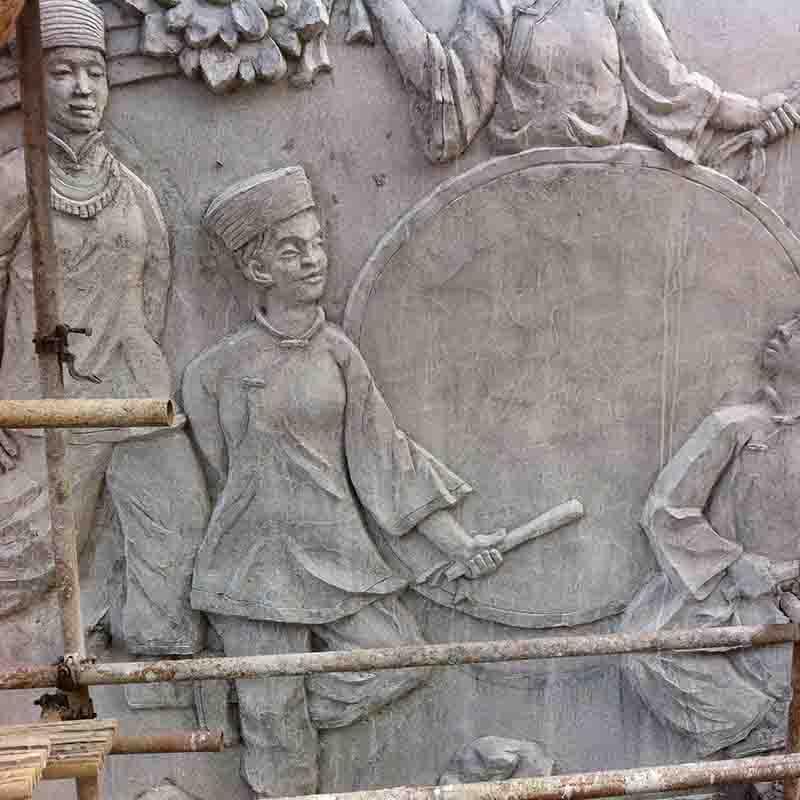澳门皇冠官网新地址水泥雕塑