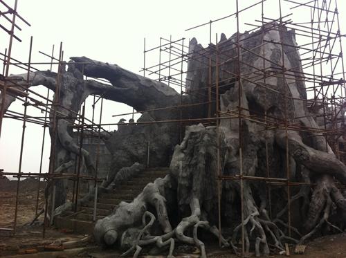 水泥雕塑工艺