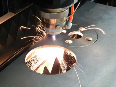激光切割厂