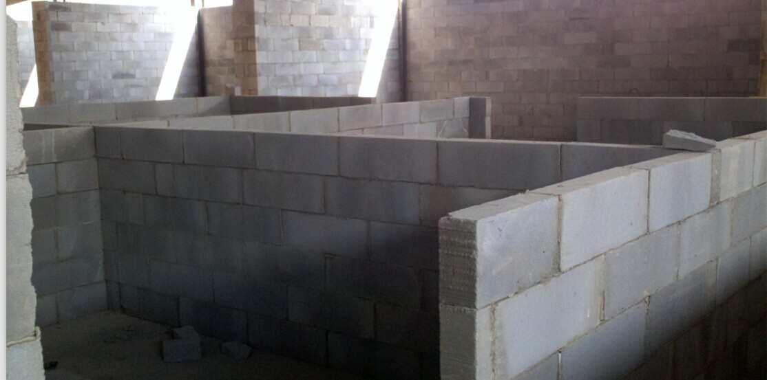 加气砖墙体施工