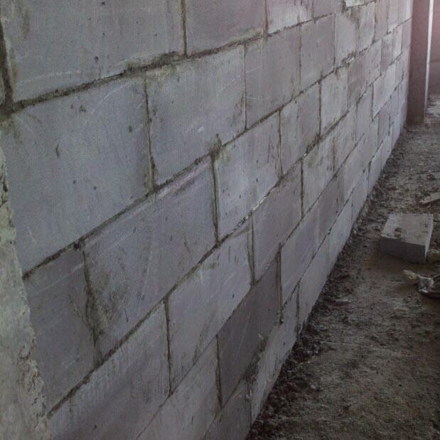 加气砖墙体案例