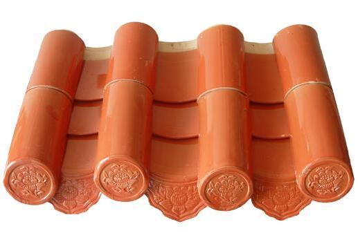 万州橘色琉璃瓦