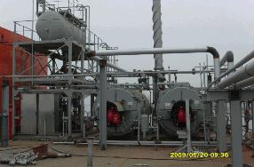 燃气导热油锅炉原理