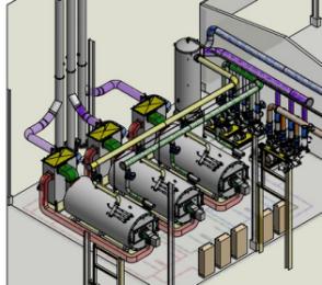 燃气导热油锅炉特点