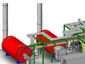 燃气导热油锅炉辅助装置