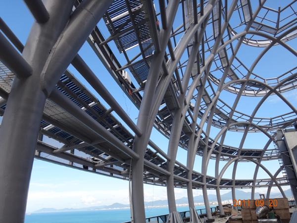 框架式太阳能系统