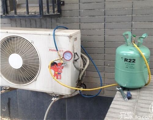 专业空调加氟