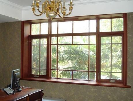 贵州铝包木门窗安装