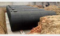 埋地油罐制作