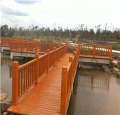 武汉防腐木木桥