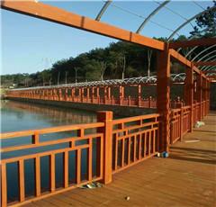 武汉防腐木护栏