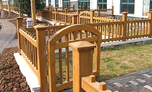 湖北防腐木护栏