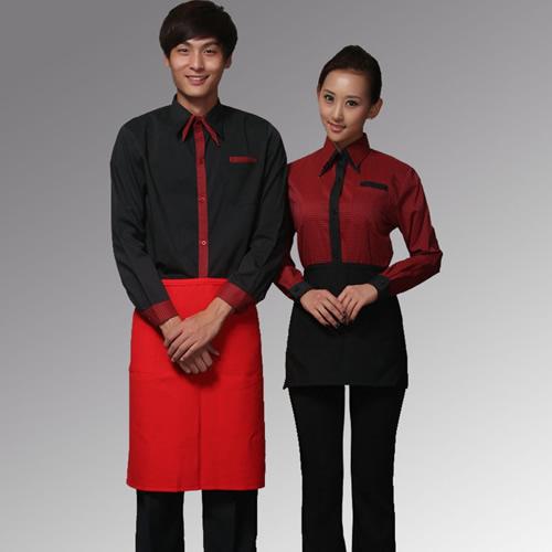 石家庄酒店服务员工作服