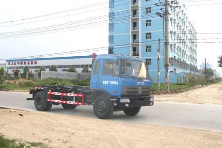 贵州东风车厢可卸式垃圾车