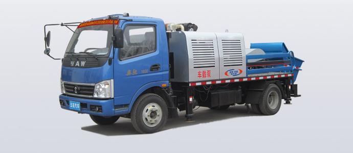 贵州三一车载式混凝土泵车