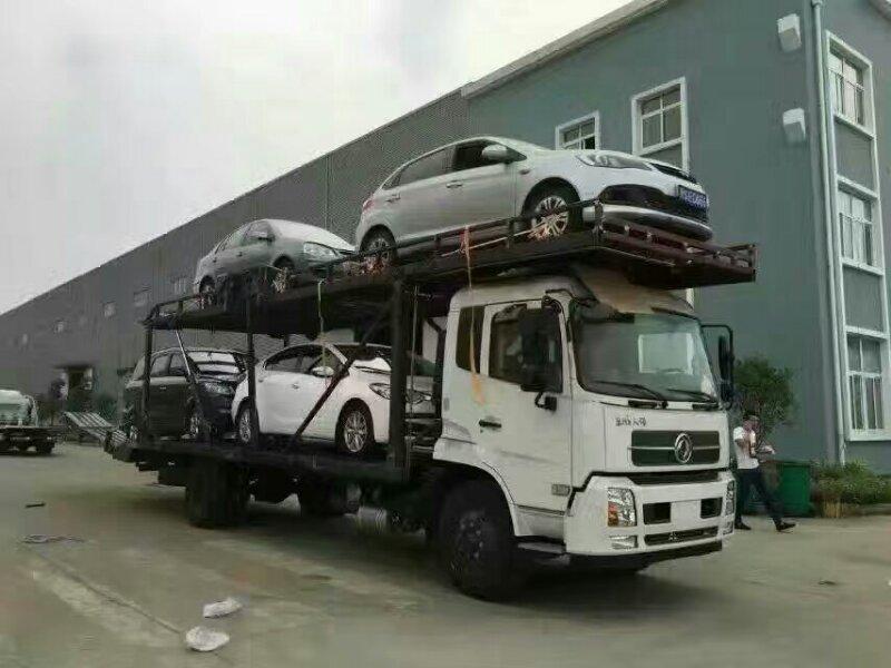 贵州东风中置轴轿运车