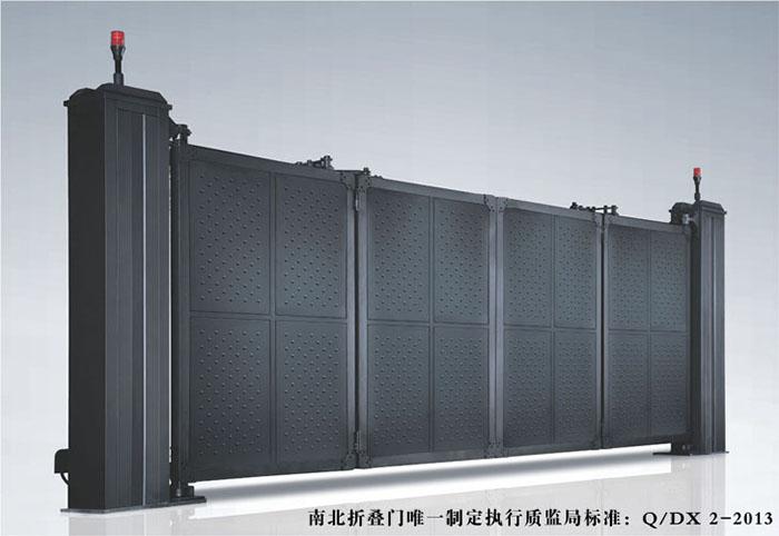 悬浮折叠封板门