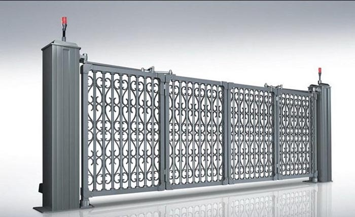悬浮折叠古典门