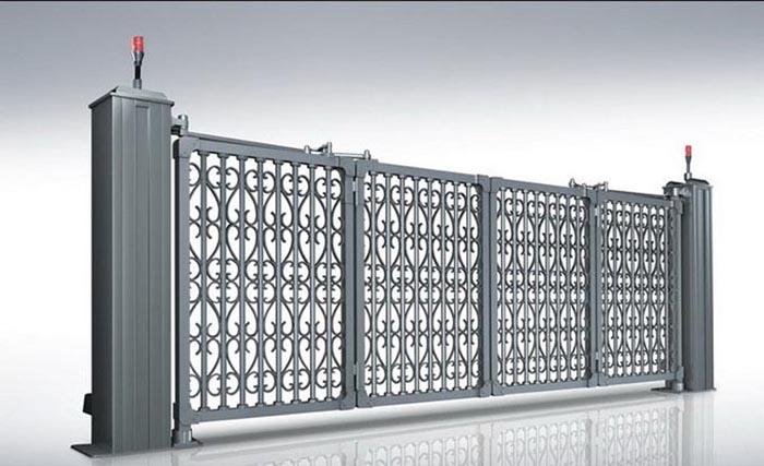 黔西悬浮折叠古典门